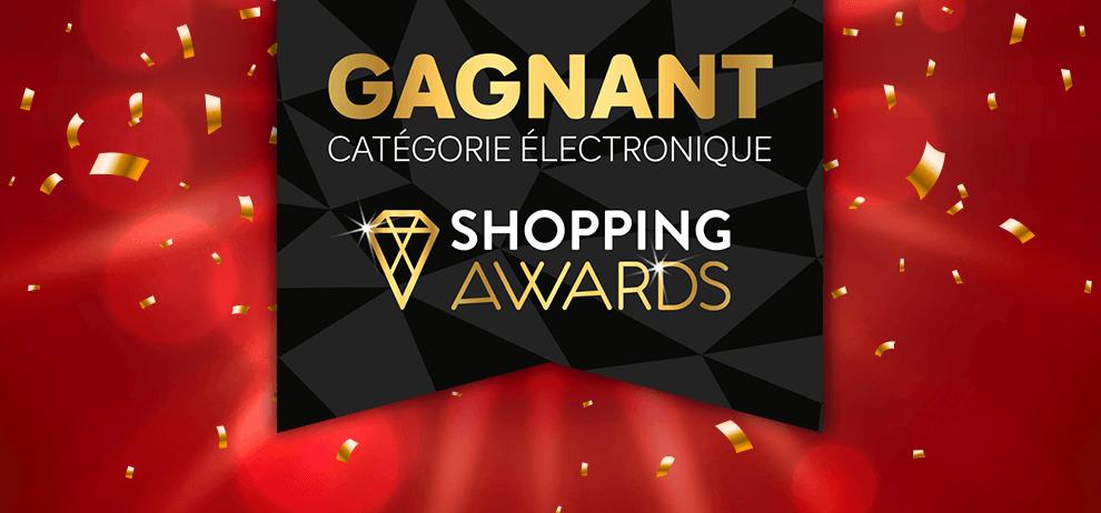 LEDdirect remporte le Shopping Award pour la meilleure boutique en ligne d'électronique