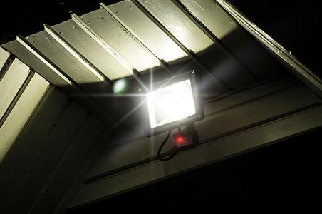 Projecteurs LED avec détecteur de mouvement