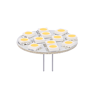 Ampoule LED G4/GU4 12V 2,4W SMD 2900K dimmable