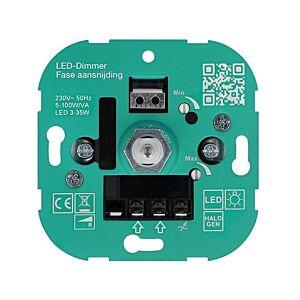 Variateur LED 3-35W T37 encastrable 230V coupure de phase ascendante