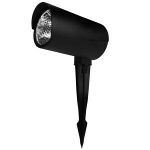 Spot piquet LED Rengard 12W noir 3000K IP65