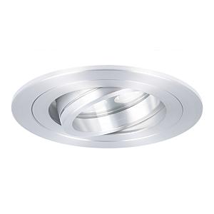 Spot LED encastrable Montella rond 5W 2700K aluminium IP65 dimmable orientable