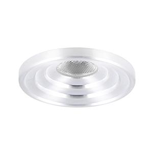 Spot LED encastrable Arola rond 3W 2700K aluminium IP55 dimmable