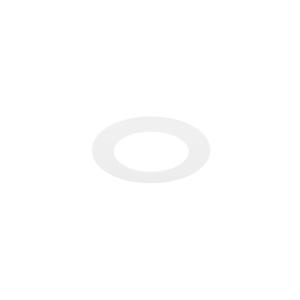 Plafonnier LED 12cm blanc encastrable 8W 4000K IP44 dimmable