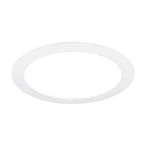 Plafonnier LED 24cm blanc encastrable 14W 4000K IP44 dimmable