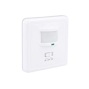 Détecteur de mouvement LED murale encastrable blanc