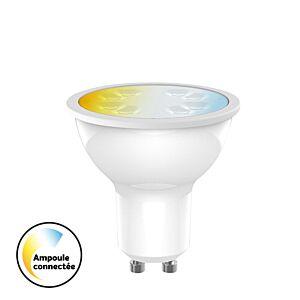 Ampoule LED GU10 Connectée tint 5,5W 2700K - 6500K Connectée home