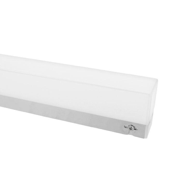 Éclairage miroir LED avec capteur pour changer luminosité 40cm Lotis 7,5W chrome IP44