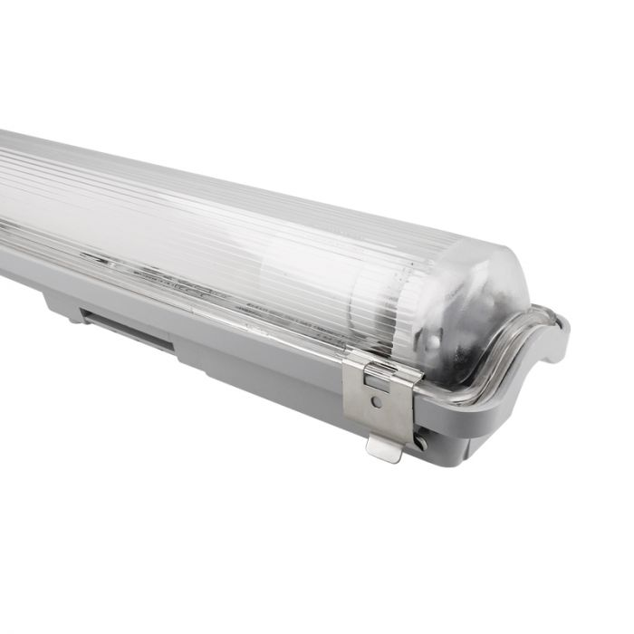 Réglette LED Tube 60cm Aqua-Promo IP65 incl. Tube LED 9W 4000K