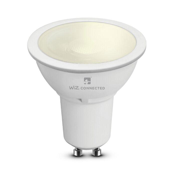 Ampoule LED connectée WiZ GU10 wifi MR16 5,5W 2700K