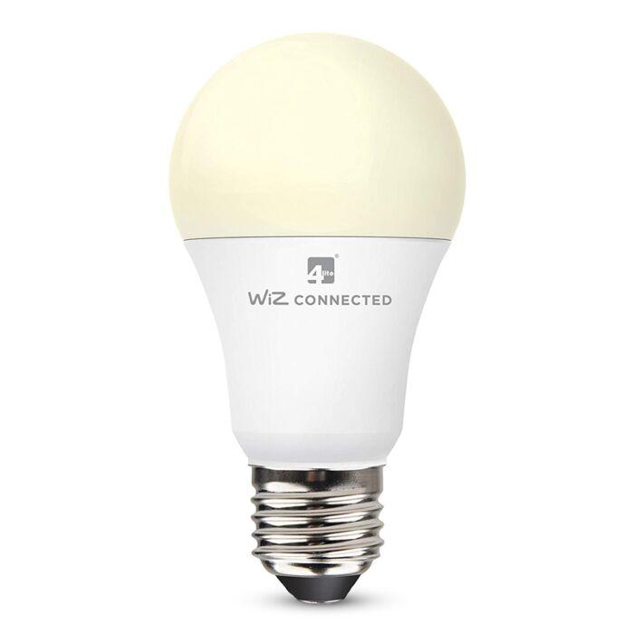 Ampoule LED connectée WiZ wifi E27 A60 9W 2700K