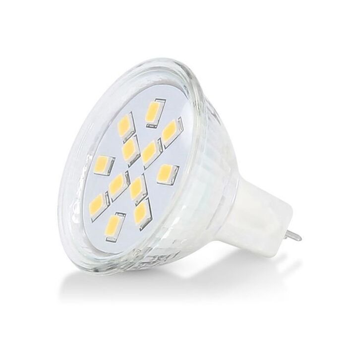 Ampoule LED G4/GU4 35mm 12V 1,8W SMD 2900K dimmable
