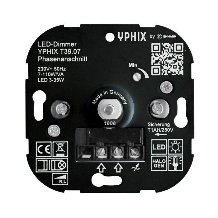 Variateur LED 3-35W T39 encastrable 230V coupure de phase ascendante
