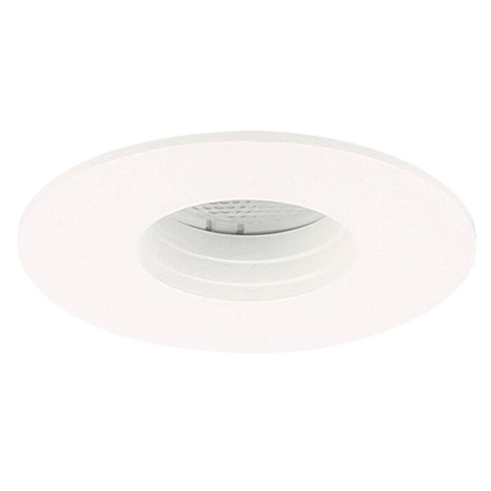 Spot LED encastrable Piatto rond 3W 2700K blanc IP55 dimmable