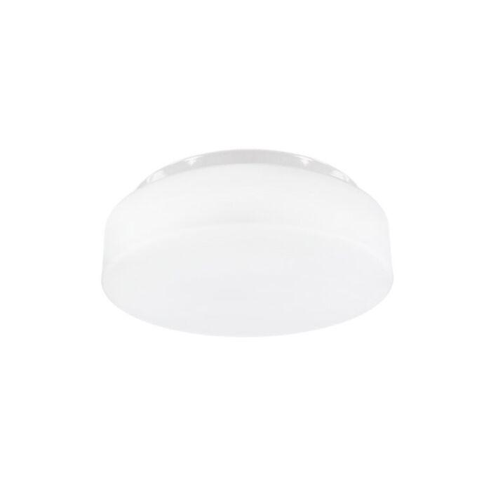 Plafonnier LED Pravia rond 35 cm IP44 verre