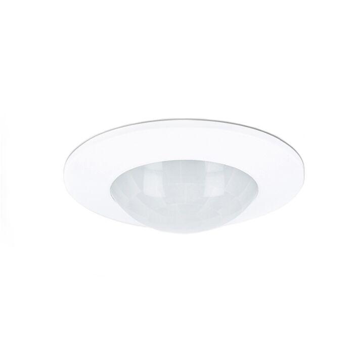 Détecteur de mouvement LED plafond encastrable blanc