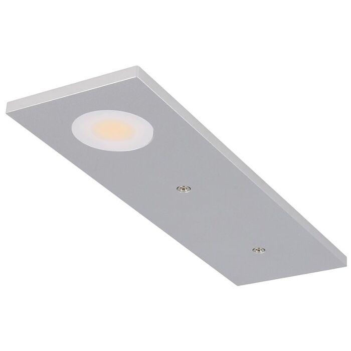 Éclairage meuble spot Somano saillie 3W 2700K aluminium dimmable 12V DC