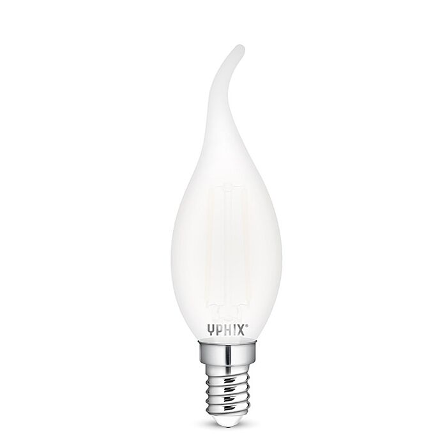 Ampoule LED E14 flamme BA35 Filament Polaris 2,5W 2700K
