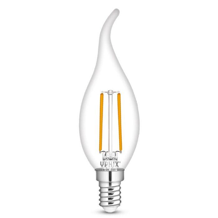 Ampoule LED E14 flamme Atlas B35 4,5W 2700K